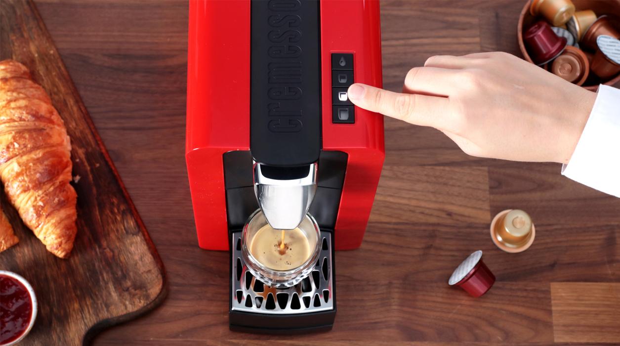 Compact II кофемашина с множеством функций